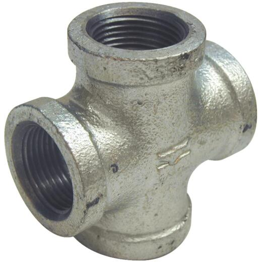 Southland 3/8 In. Malleable Iron Galvanized Pipe Cross